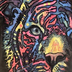 The Mountain Rainbow Tiger Adult Tee